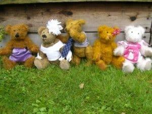 mohair-teddybears