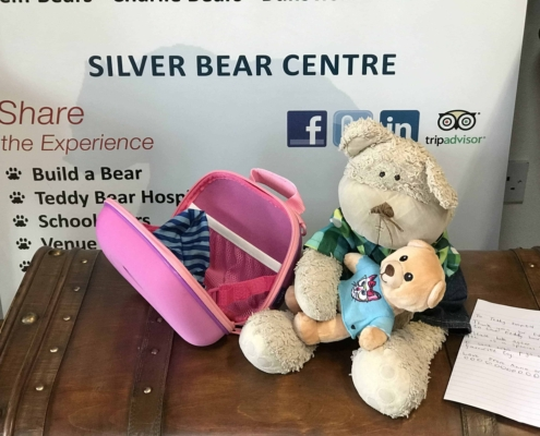 Claires Teddy Bear Hospital Letter