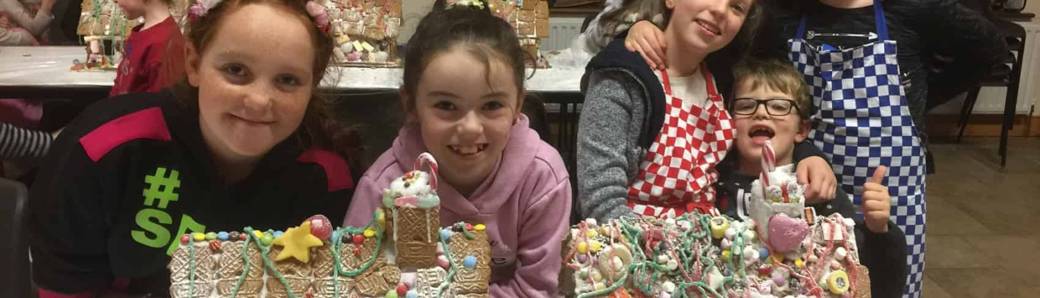 Gingerbread House Christmas Workshop